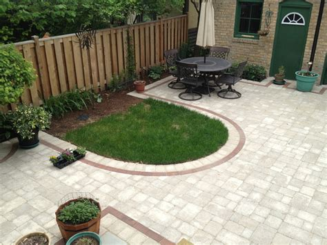 paver patio water feature ravenswood chicago