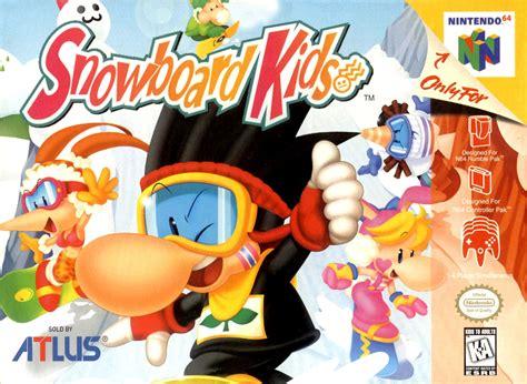 Snowboard Kids Nintendo 64 Game