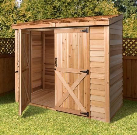 8x4 Shed Bq by Cedarshed Bayside With Door Option