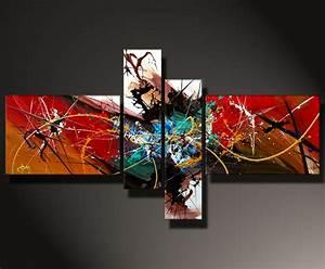 Moderne Kunst Leinwand : storm moderne kunst malerei in acryl auf leinwand abstrakte kunst galerie inspire art ~ Sanjose-hotels-ca.com Haus und Dekorationen