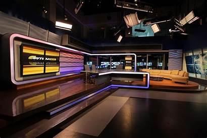 Tv Studio Trk Virtual Newscaststudio Sets Stage