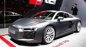 Nouvelle Audi Tt 2015 : nouvelle audi r8 2015 vid o et photos officielles gen ve ~ Melissatoandfro.com Idées de Décoration