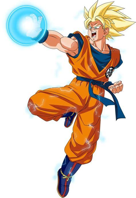 Goku SSJ 2 Power DBS L by jaredsongohan on DeviantArt in