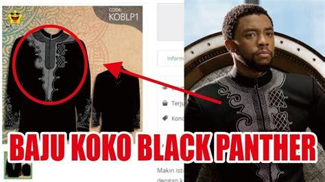 viral baju koko black panther youtube