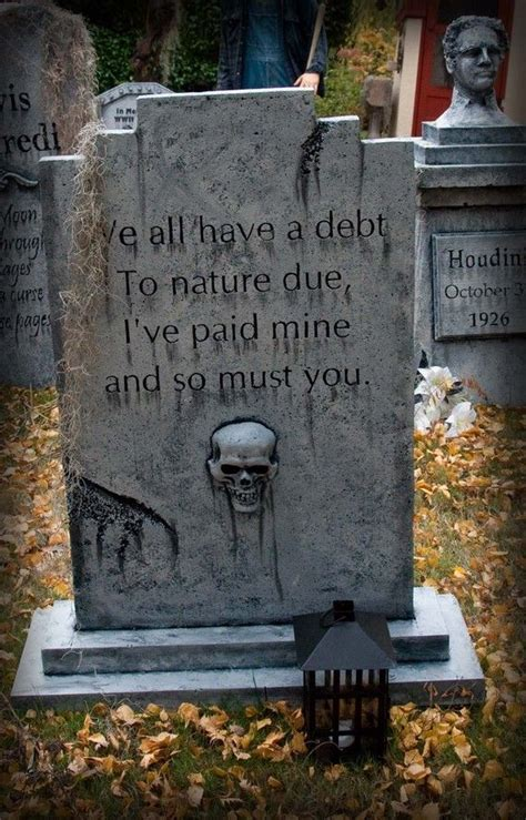 Halloween Tombstone Sayings Scary by 1000 Ideas About Halloween Tombstones On Pinterest