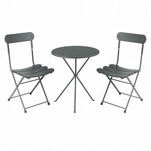 Table Et Chaise Jardin : table chaise de jardin ensemble terrasse pas cher reference maison ~ Teatrodelosmanantiales.com Idées de Décoration