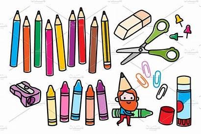 Craft Crafts Clipart Arts Supplies Clip Materials