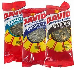 David Sunflower Seeds 12ct ; Regular; BBQ, or Ranch ...