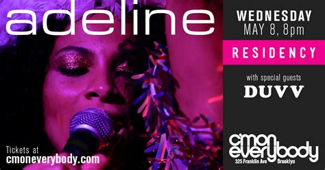 adeline residency special guest duvv cmon wed
