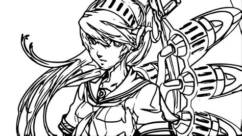 Girl Anime Supernoobs Coloring Page Also see the category