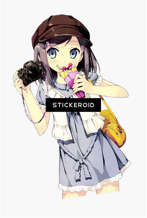 transparent background anime stickers png