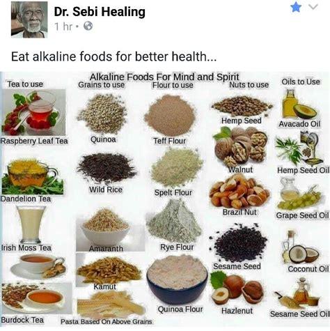 dr cuisine dr sebi alkaline food chart food