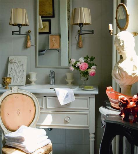 salle de bain romantique country bathroom bathroom martha stewart cumulus cloud chatelaine