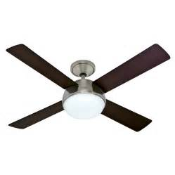 hunter fan company 52 in arvada led brushed nickel ceiling