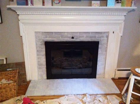 Rick Fireplace Chalkboard Paint Our Little Blue House