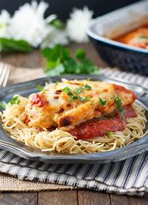 Dump and Bake Healthy Chicken Parmesan RecipeLion com