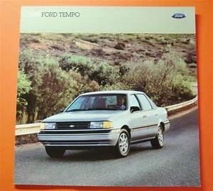 Sell 1989 Ford Tempo Showroom Sales Brochure   24