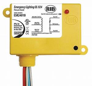 Functional Devices Inc    Rib Prewired Relay  24vac  Dc