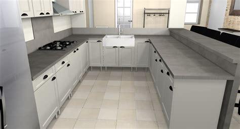 modele cuisine en u la cuisine en u dar déco décoration intérieure maison
