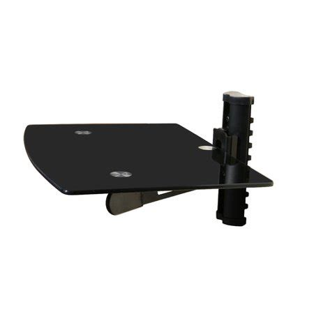 tv wall mount with shelf walmart mount it wall mounted tv and component shelf combo dvd dvr
