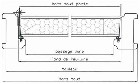 dimension cadre de porte standard portes des dimensions int 233 rieures pictures to pin on