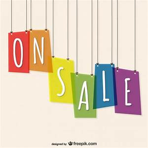 On sale vector template Vector | Free Download