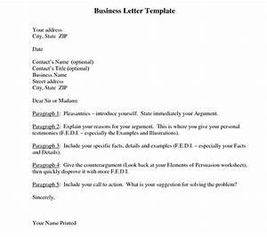 business letter template and their benefits With business letter template