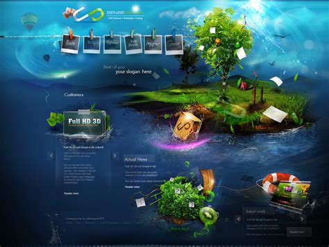 what are web designers best sources for inspiration - Cool Website Designs