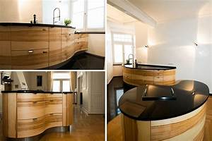 Kuche sucht haus massivholzkuchen vollholzkuchen und for Runde küche