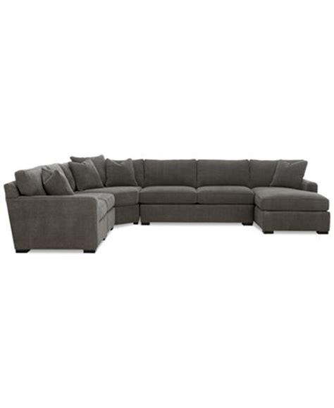 Macys Radley Sofa Bed by Radley 5 Fabric Chaise Sectional Sofa Furniture