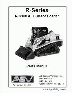 Asv Rc 100 Wiring Diagram