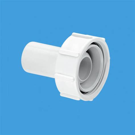mcalpine  straight connector wasteflow fitting