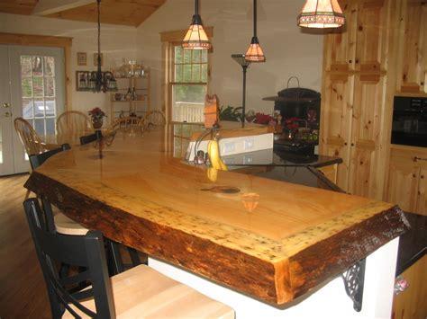 custom  rustic bar top  timeless woodworking