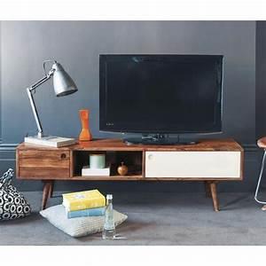 Tv Möbel Vintage : tv lowboard im vintage stil aus sheeshamholz b140 tv m bel vintage stil und wohnzimmer ~ Sanjose-hotels-ca.com Haus und Dekorationen