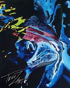 45 best images about My Colored Pencil Trout and Fish ...