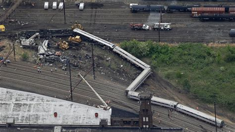 Amtrak Train Was Traveling At Twice The Speed Limit When