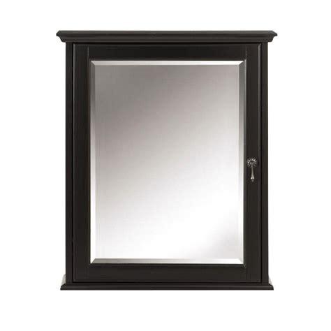 black medicine cabinet with mirror home decorators collection newport 24 in w x 28 in h