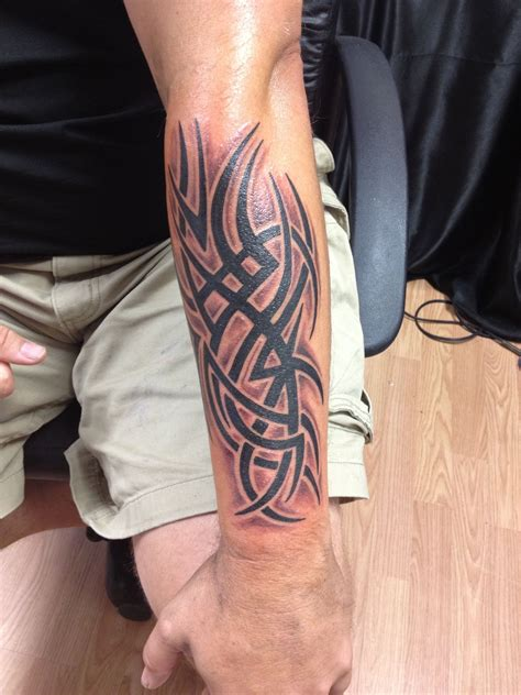 left forearm tribal tattoos tribal forearm tattoos