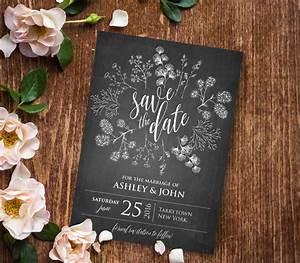 blank rustic wedding invitation templates matik for With blank country wedding invitations