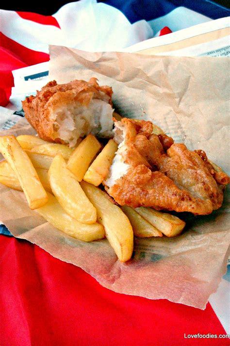 british beer battered fish  chips
