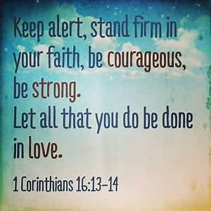 BIBLE QUOTES FOR STRENGTH AND COURAGE image quotes at ...