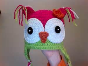 Hoot Owl Hat Crochet Pattern