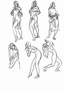 Saiprasad  Some Gesture Drawing