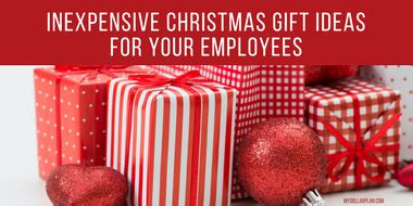 inexpensive christmas gifts for employees
