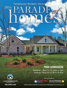 2016 Tallahassee Parade Of Homes By Tba - Tallahassee Builders Association