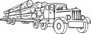 14 Printable Pictures Of Semi Truck Free Page Print