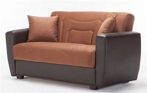 power rainbow brown sofa bed loveseat set in fabric istikbal With motorized sofa bed