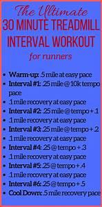 Treadmill Chart For Beginners Running Interval Workout Treadmill Tempo Run Speed