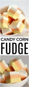 Easy Candy Corn Fudge   Six Sisters' Stuff