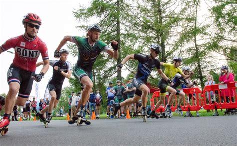 ZNOTIŅŠ UN JANKOVSKA UZVAR LATVIJAS ČEMPIONĀTĀ SPRINTĀ SKRITUĻSLIDOŠANĀ - Skatesports